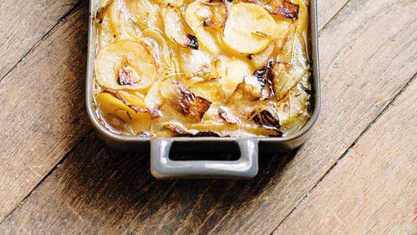 Stéphane Reynaud: Gratin de pommes de terre boulanger (potato gratin boulanger)