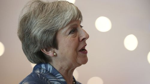 Theresa May Egypt 1