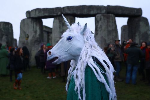 Stonehenge remains a sacred place for followers of pagan beliefs.