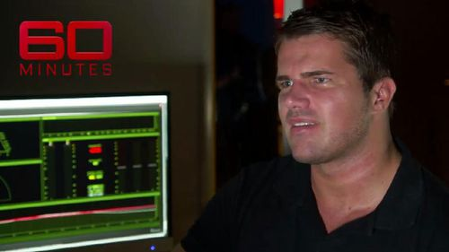 Mr Tostee's audio recordings were replayed on the program. (60 Minutes)
