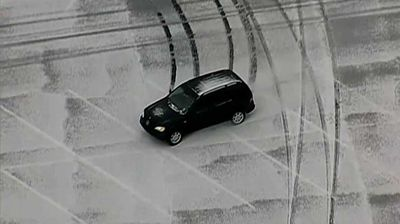 "<p _tmplitem=""1"">A Fox News helicopter caught a luxury Mercedes driver's illicit joyride in an icy carpark when the driver appears to have thought no one was watching.</p><p _tmplitem=""1""> The <a href=""http://globalnews.ca/video/1846405/raw-texas-driver-does-donuts-in-empty-parking-lot"">aerial footage</a> shows the hoon taking advantage of Texas' recent freezing rain and snow, turning the empty parking lot of Collin Creek Mall in Plato into their very own race track today.</p><p _tmplitem=""1""> The driver drifts for tens of metres at a time, leaving asphalt-coloured tyre tracks in the white snow.</p><p _tmplitem=""1""> In one instance he even appears to lose control of the car, which could be valued at up to $90,000, narrowly avoiding another opportunistic driver doing the same thing.</p><p _tmplitem=""1""> It is not clear how the joyride ended but it appears that it was without incident.</p><p _tmplitem=""1""> In the past, other drivers have not been so lucky.</p><p _tmplitem=""1""> Click through to see our gallery of humankind's ongoing struggle with icy roads.</p>"