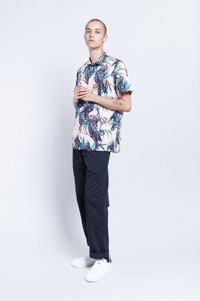"<p><strong>Get shorty&nbsp;</strong></p> <p>Paul Smith Cockatoo shirt, $215 at <a href=""https://www.incu.com/products/paul-smith-ss-cockatoo-shirt-pink"" target=""_blank"" draggable=""false"">Incu</a></p>"