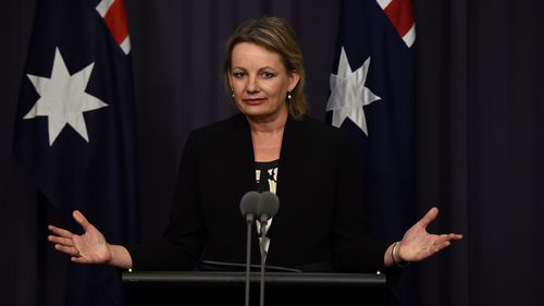 Sussan Ley has retained the Health portfolio. (AAP)