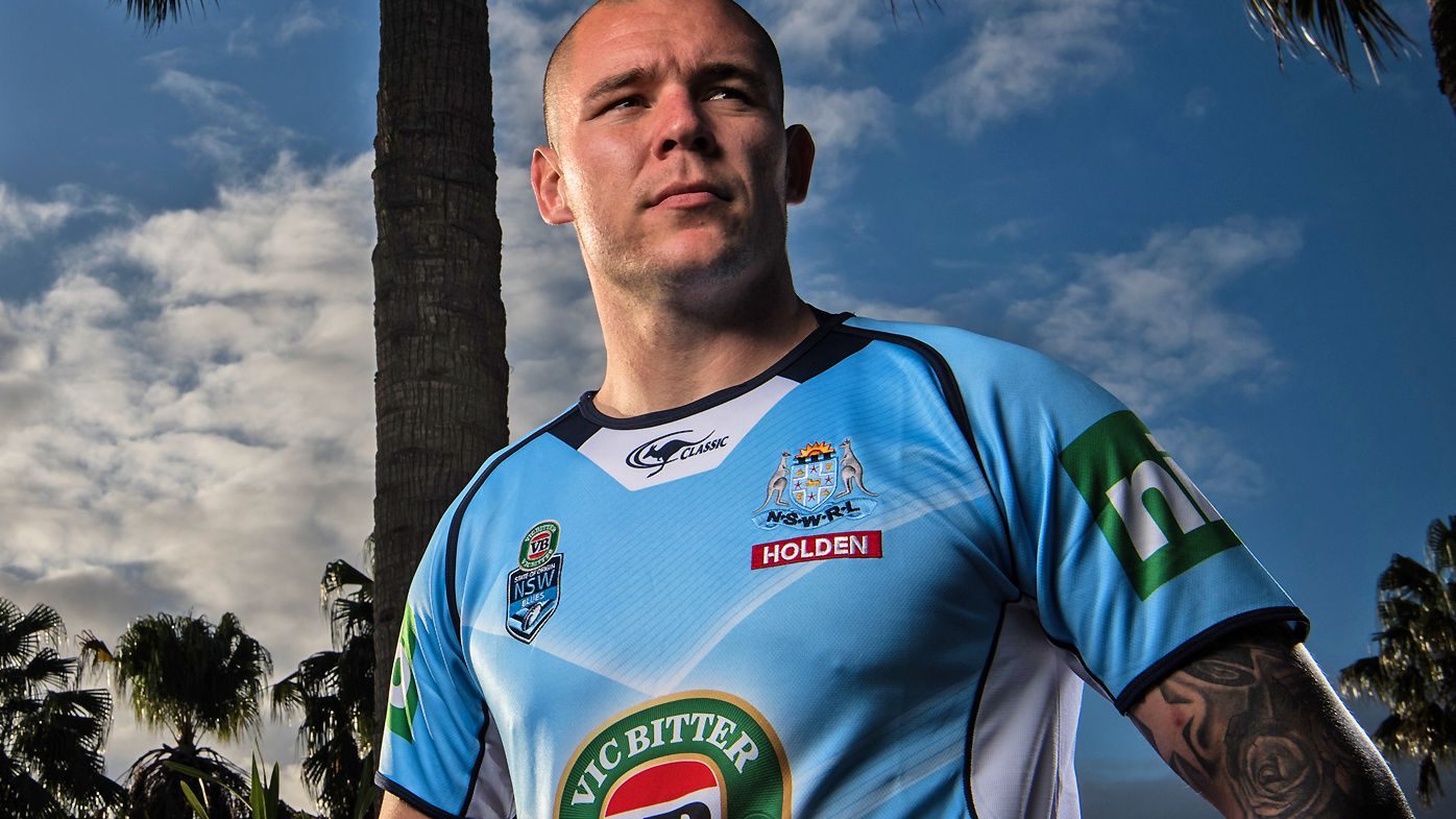 David Klemmer in 2016 before State of Origin
