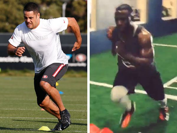 Hayne set benchmark in NFL video