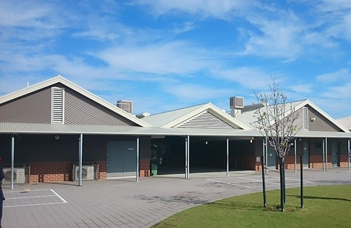 The young girl was at Meadow  Springs Primary School when she was bitten.