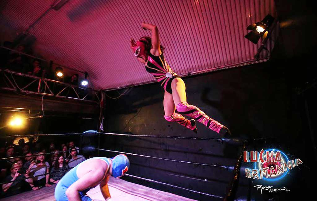 Lucha Britannia wrestling in London