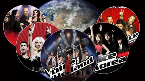 Slideshow: <i>The Voice</i> around the world