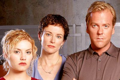 <B>How she died:</B> In the first of Jack Bauer's (Keifer Sutherland) really bad days, his wife Teri (Leslie Hope) is kidnapped, tortured, made to believe that her daughter has been killed, suffers amnesia and finds out she's pregnant. After this ordeal, she is rescued and delivered to the safety of the Counter-Terrorist Unit... only to be murdered in the final hour by double-agent Nina Meyers (Sarah Clarke). Worst. Day. Ever.