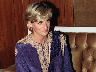 Princess Diana pictured during a 1997 visit to Pakistan.