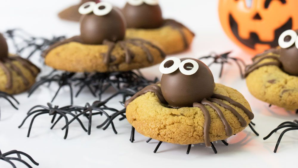 Kirsten Tibballs' spider peanut cookies recipe