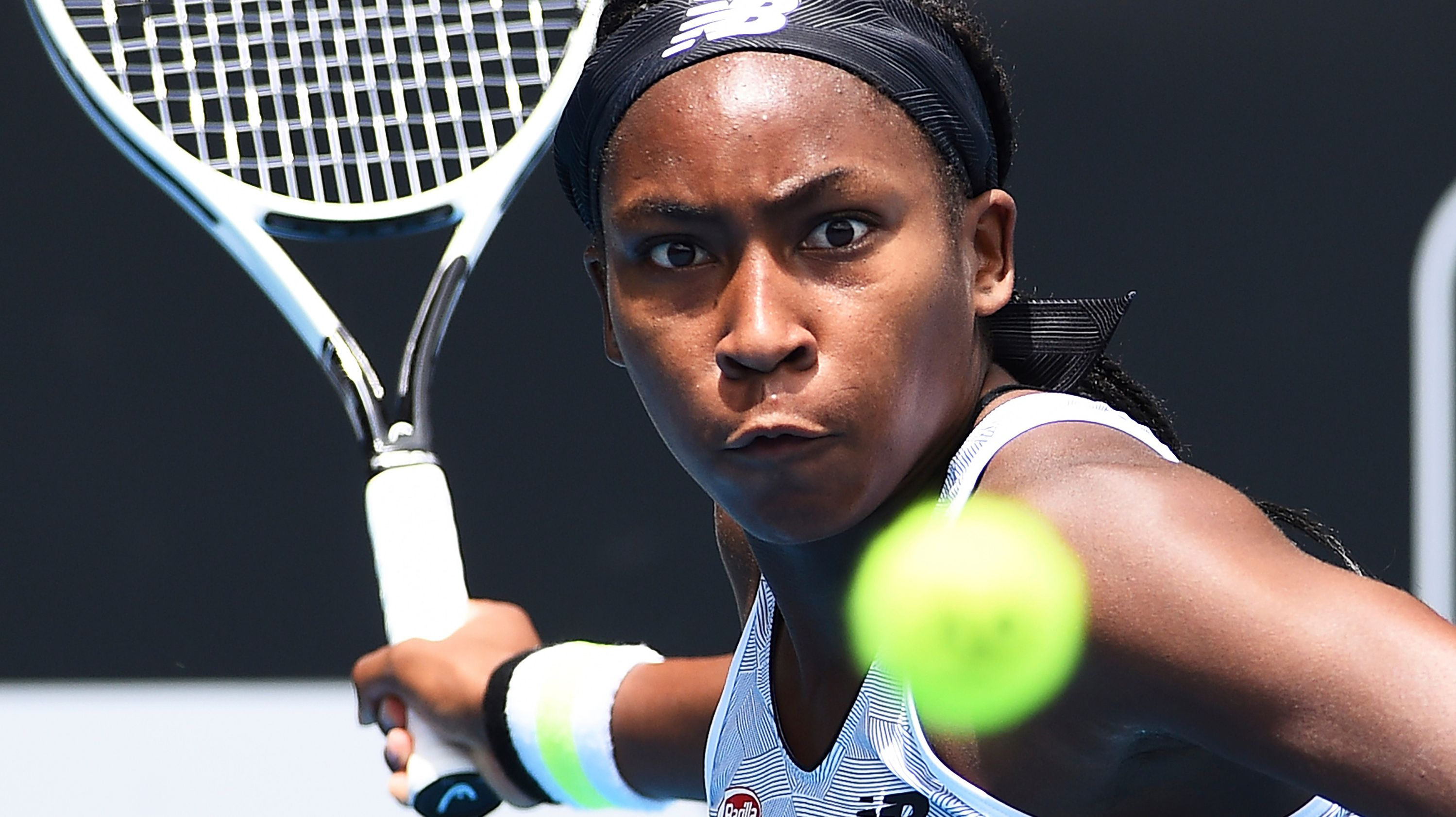 American teen sensation Coco Gauff tells off father for 'cursing' in Auckland