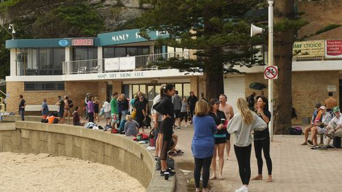 8am at Manly on Friday morning.