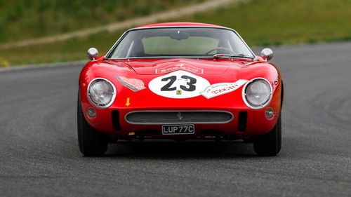 The road racer could become the most expensive car ever sold at auction. Picture: Sotheby's