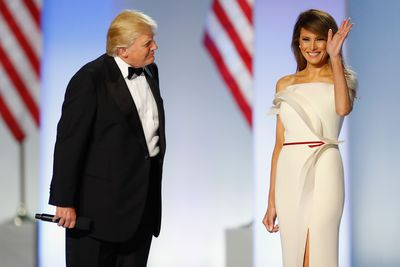 <p>First Lady Melania Trump surprised many when she took the stage with her husband for the inaugural ball. The former model stunned in a white crepe column dress with architectural details. With a thin burgundy ribbon worn around the waist, a dramatic slit and a gazar wave curing from shoulder to hip, Melania was both sophisticated and chic.</p> <p>According to a statement from her office, the gown was a 'collaboration' between the First Lady and&nbsp;the designer Herv&eacute; Pierre, the former creative director of Carolina Herrera. In all likelihood, the inspiration was Pierre's but no matter. It was a strikingly beautiful choice that bodes well for White House styling in the coming four years.</p> <p>The gown was not the only fashion surprise that took place throughout the Inauguration festivities. There were a handful of standouts worn by the now First Lady and also, first daughter Ivanka Trump. Here we look at the best so far.</p> <p>Image: Getty.</p> <p>&nbsp;</p>