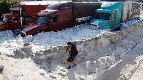 Mexico hail