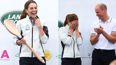 Duchess of Cambridge awarded Wooden Spoon at King's Cup Regatta