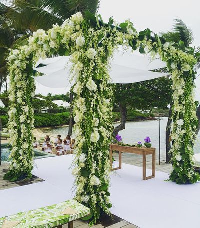 Helena Bordon's wedding