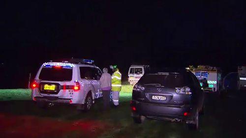 Authorities at the scene. (9NEWS)