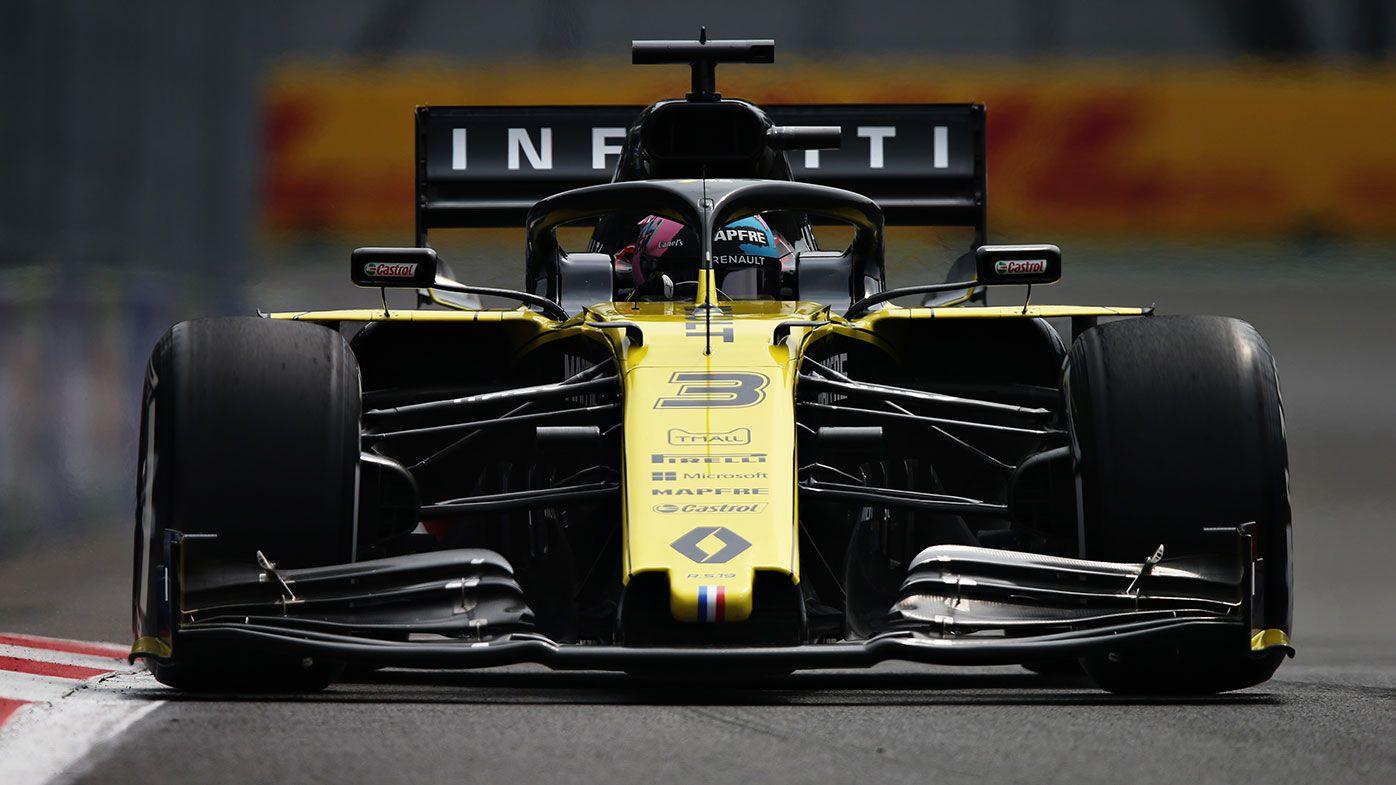 Daniel Ricciardo starts 13th on the grid for the Mexican Grand Prix.