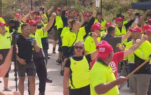 Row between Coles and workers over South West Sydney distribution centre