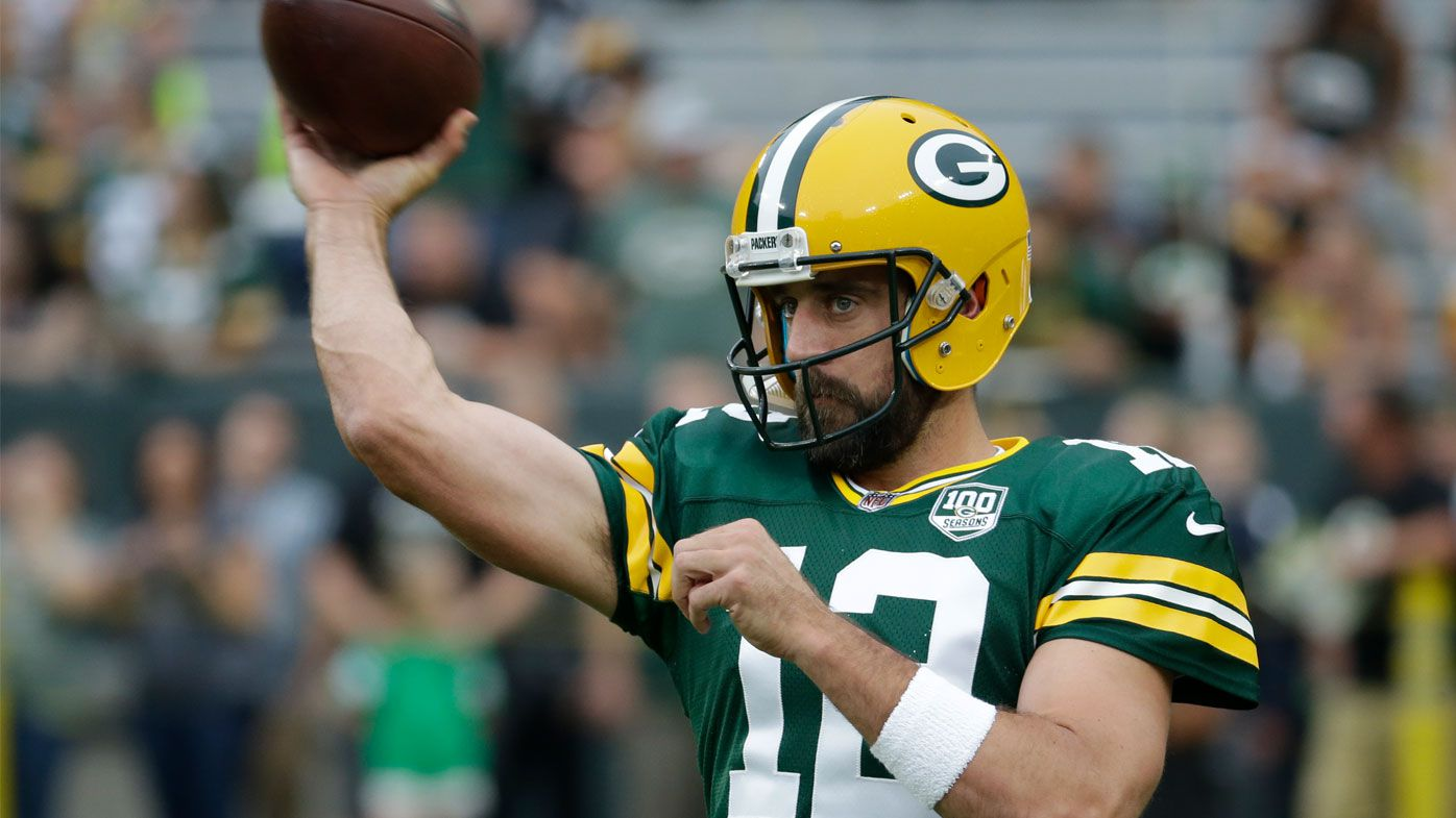 Green Bay Packers' Aaron Rodgers sings historic NFL deal