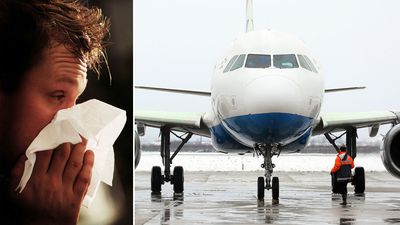 Want to avoid the flu on a plane? Here's how