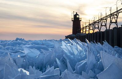 Michigan Ice Shards