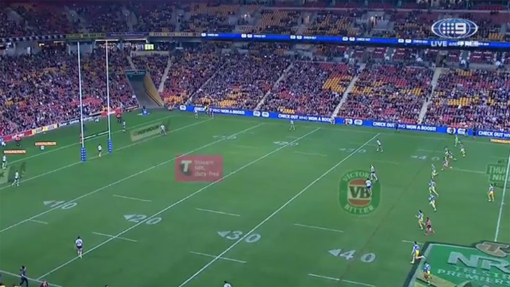 Parramatta Eels score the fastest try in NRL history against Brisbane Broncos