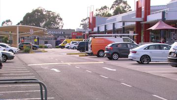 Two fathers got into a fight at the St Clair Shopping Centre car park yesterday.
