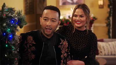 John Legend and Chrissy Teigen have not ruled out doing 'thankless' Oscars hosting job