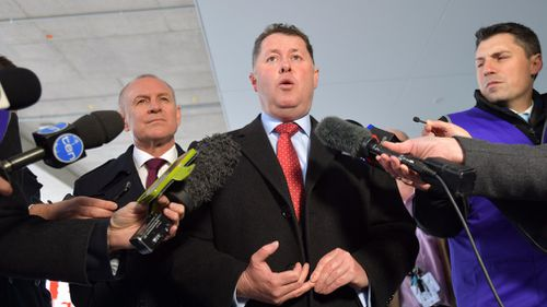 Mr Snelling opened the new Royal Adelaide Hospital just weeks ago. (AAP)