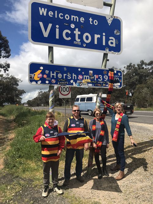 Thousands of families are making the drive to Melbourne.