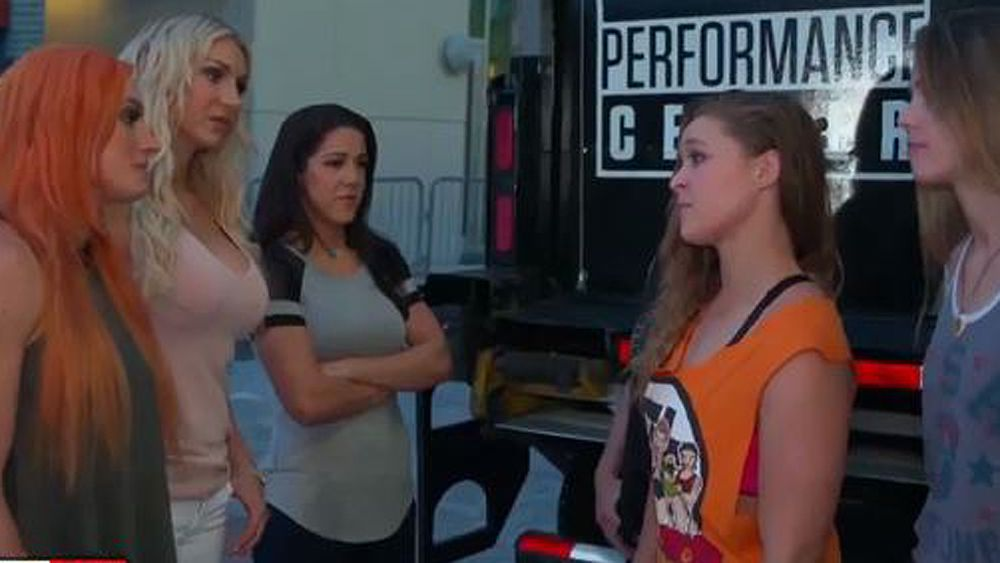 UFC star Ronda Rousey teases WWE move in awkward challenge video