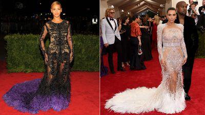 Kim Kardashian swipes Beyonce's style