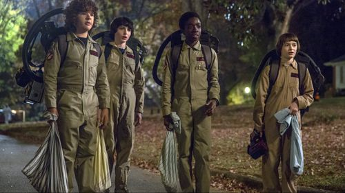 Vodafone claims its new plan offers enough data to stream every episode of Netflix hit show Stranger Things, every month. (AAP)