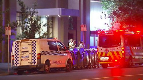 A young man was socialising with friends before plunging to his death from the 26th floor balcony of a South Melbourne apartment block. (9NEWS)