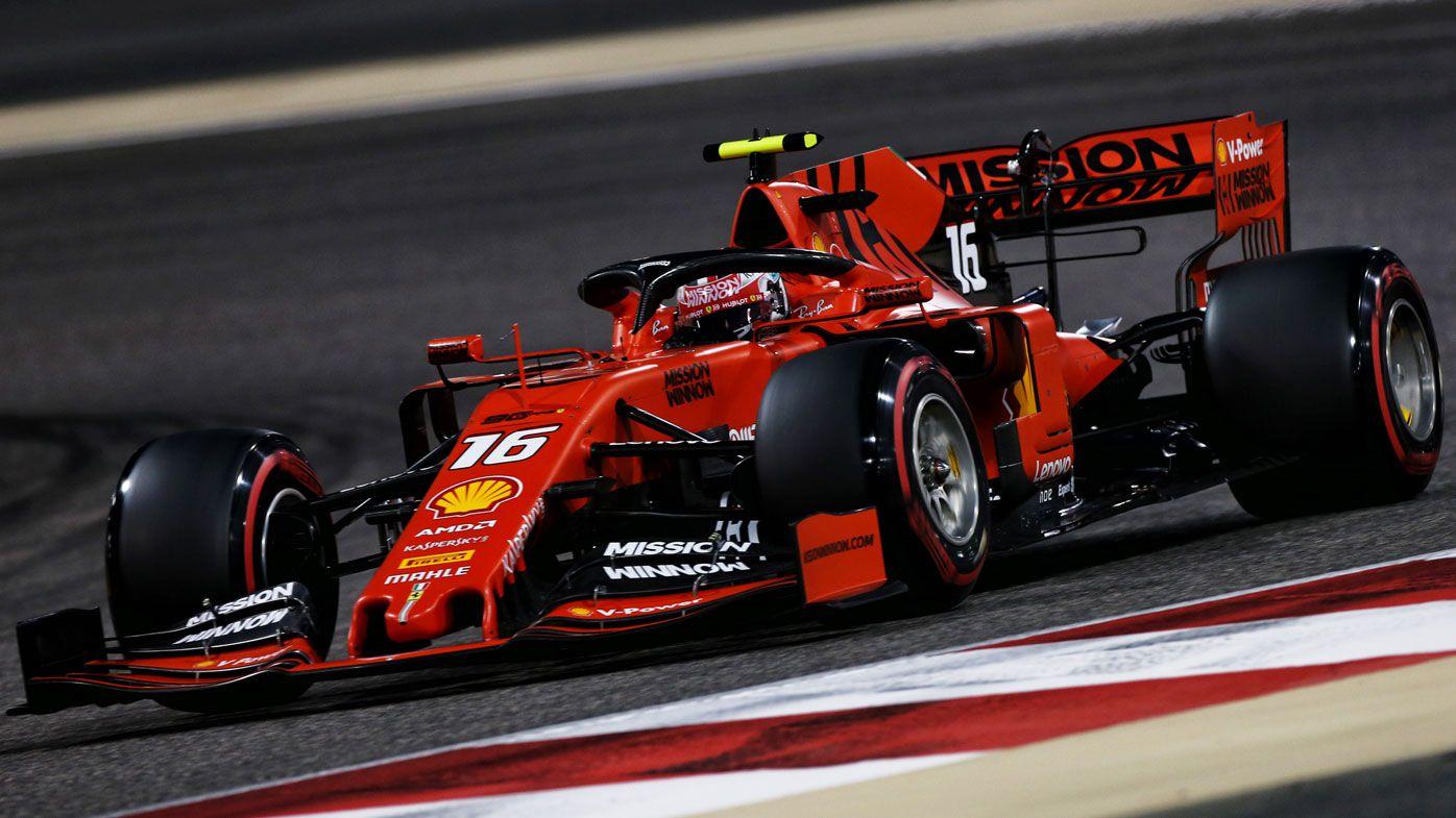 Charles Leclerc F1 Bahrain Grand Prix Ferrari Rookie Takes Pole Daniel Ricciardo 10th