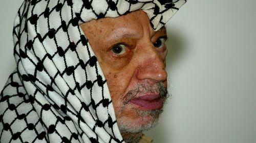 Yasser Arafat pictured in 2004. (AAP)
