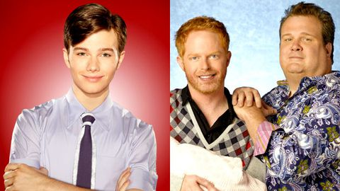 Glee and Modern Family tie for gayest show on TV