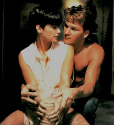 Demi Moore, Patrick Swayze, Ghost, movie