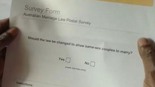 The ABS has sent out 16 million postal survey forms. (File image)