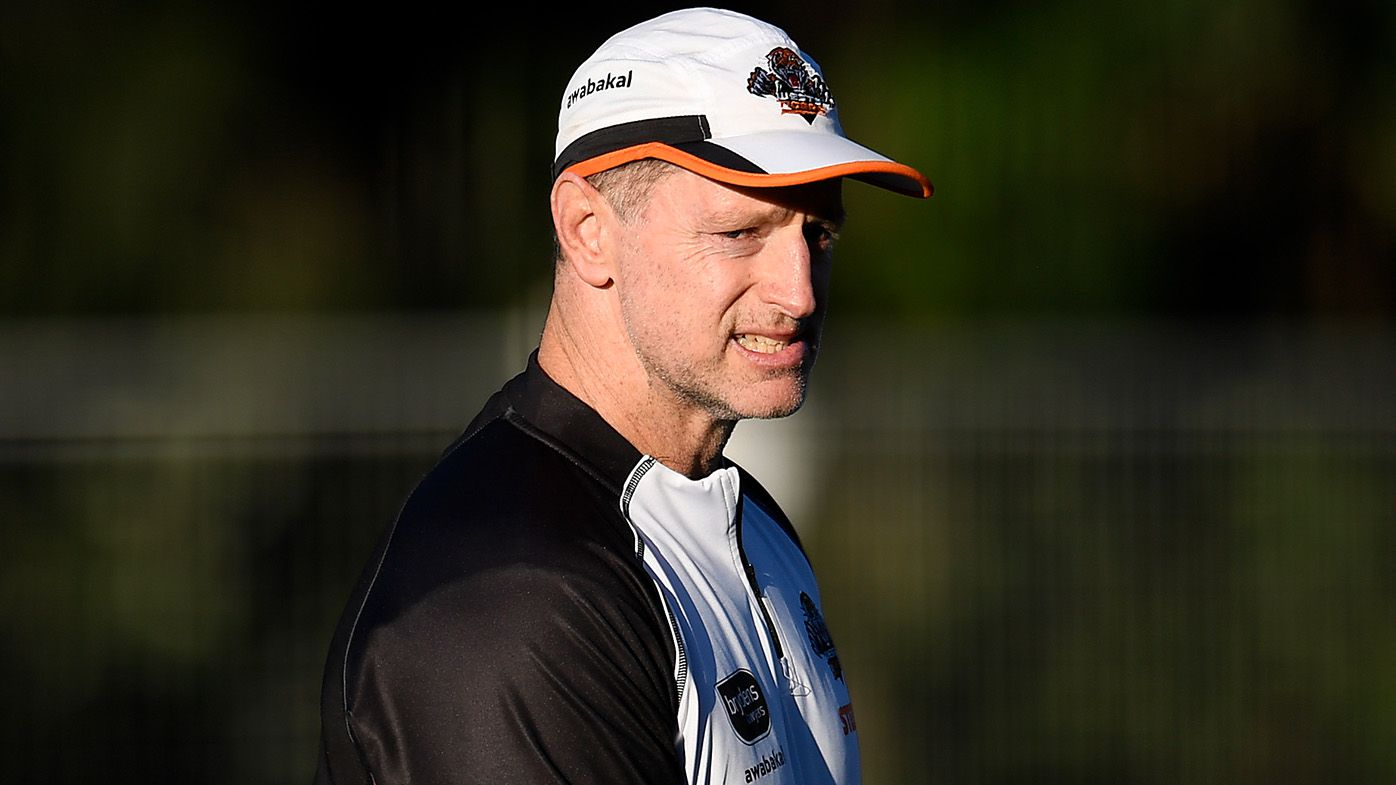 Michael Maguire's job in the balance as Dogs plunge the dagger into Tigers' lacklustre season
