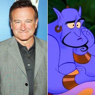 Robin Williams as Genie in Aladdin