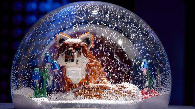 LEGO Masters 2021 Season 3 Snow Globe Challenge