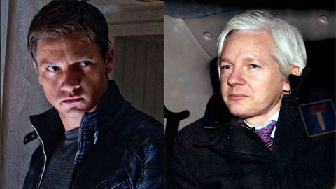Separated at birth? Bourne Legacy's Jeremy Renner in talks to play Julian Assange