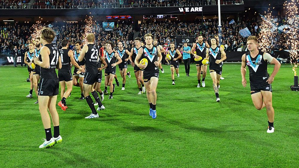 Port Adelaide players appear bound for China. (Getty-file)