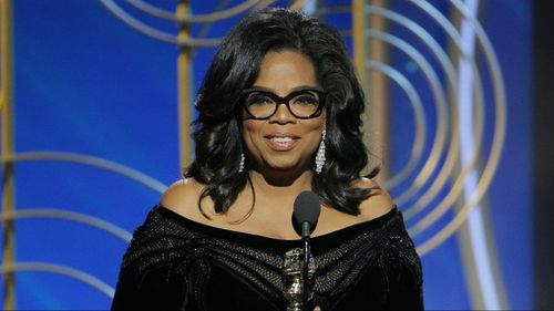 """Richie said the #MeToo movement, in which Oprah Winfrey has emerged as a key figure, was """"long overdue""""."""