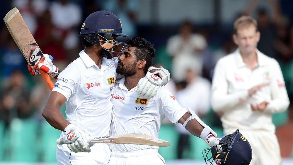 Steely Silva hinders Aussies in Colombo