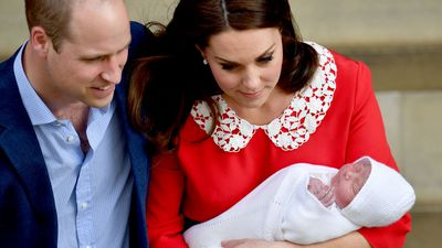 The new prince was Kate's heaviest baby yet